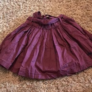 a&f maroon skirt